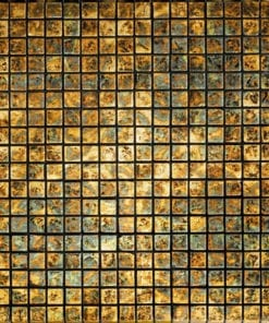PETRA ANTIC GOLD Stone Mosaic