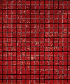 Red Natural Stone Mosaic
