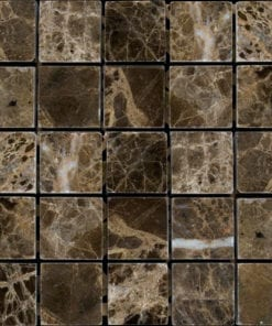 Brown Square Natural Stone Marble Tile