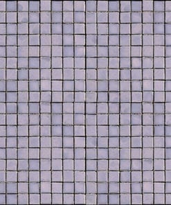 Amethyst Mosaic Glass
