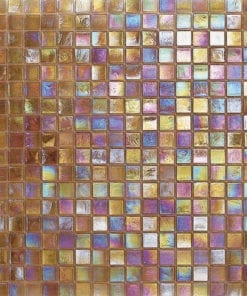 Mosaic Glass Glimmer Finish