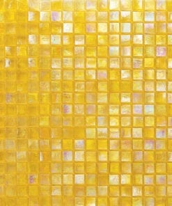 Yellow Glimmer Mosaic Tile