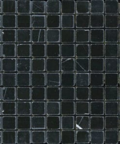 Black Polished Square Marble Tile
